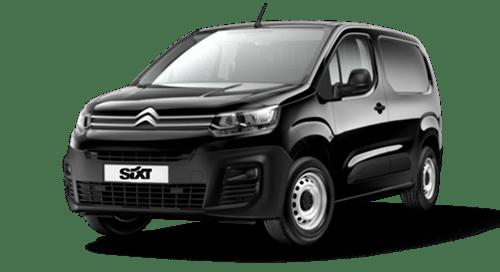 Citroën_Berlingo_Sort_Varevogn_Sixt_Minilease